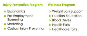 Injury Prevention vs Wellness Programs