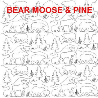 Bear Moose and Pine