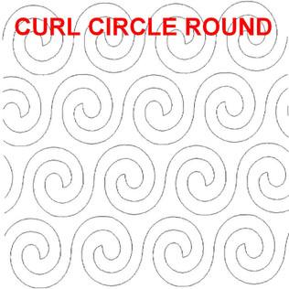 Curl Circle Round