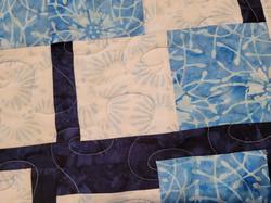 Blue Quilt Closeup Feb