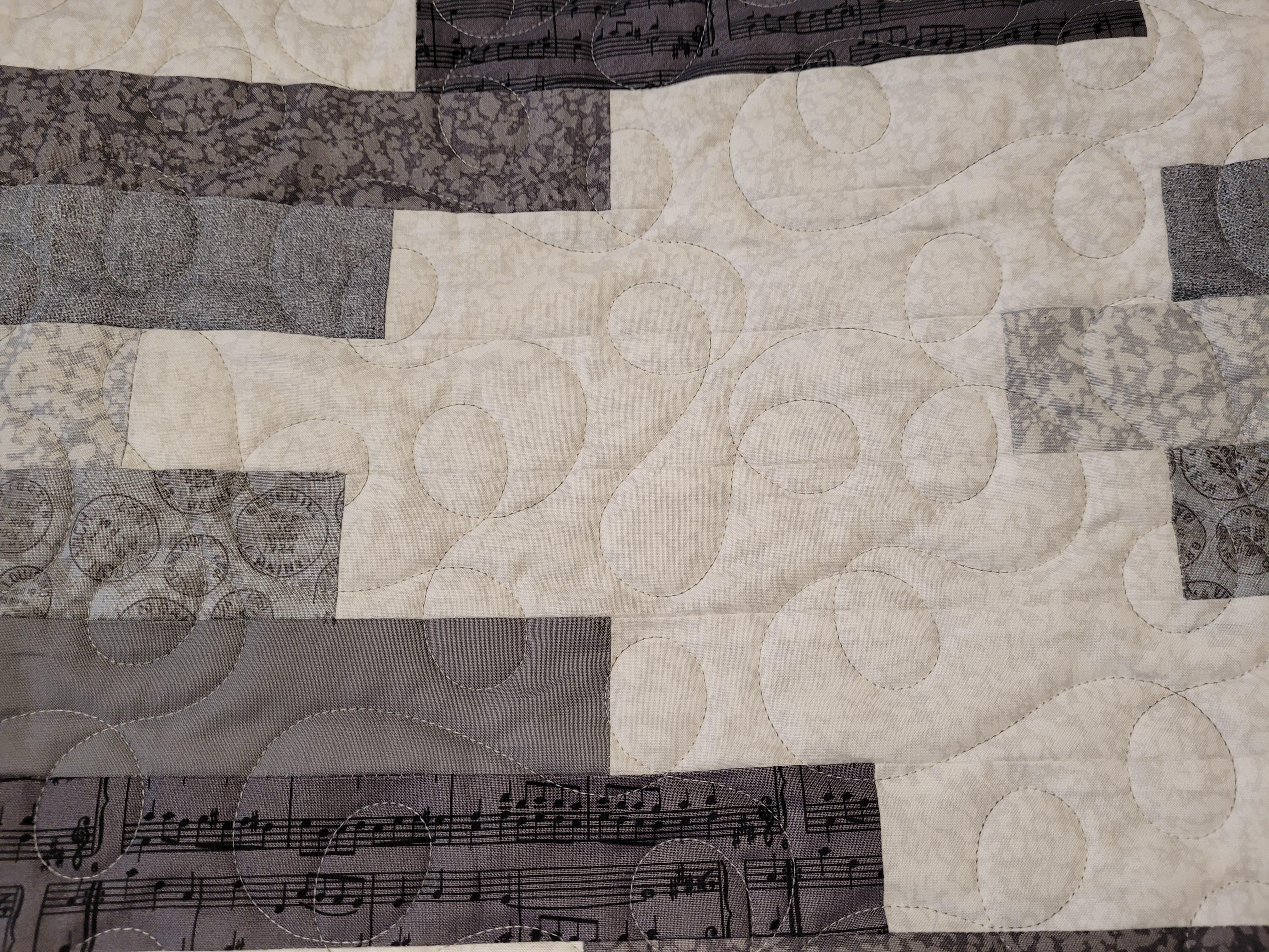 Swerve Quilt Closeup