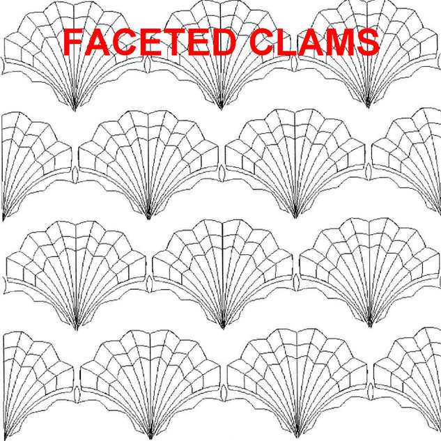 Faceted Clams