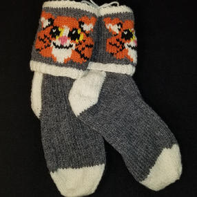 -- Oxford Grey Ginger Cat - Small -- 1 Available