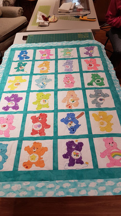 Care Bear Quilt