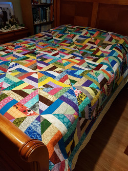 Twisted Patchwork Pattern