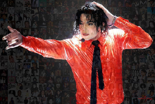 Michael Jackson - Red shirt