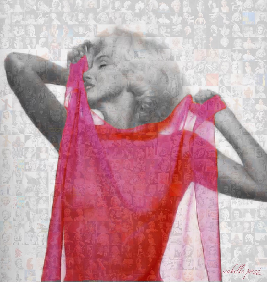 Isabelle Pozzi - Marylin Monroe Pink