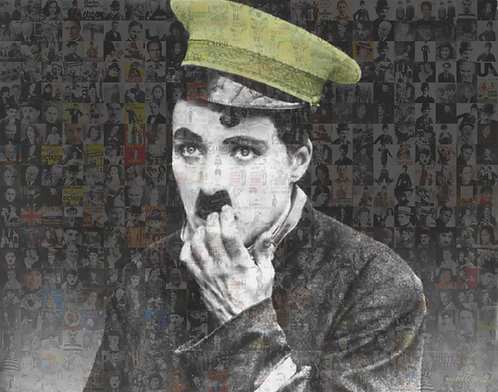 Charlie Chaplin - Green cap