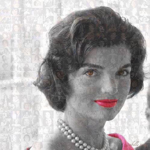Jackie Kennedy - Red lips