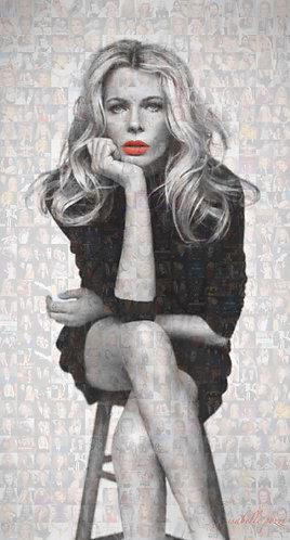 Kim Basinger - Red lips