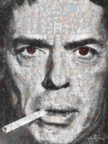 Jacques Brel smoker