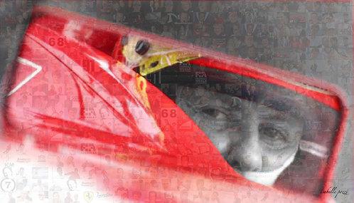 Michael Schumacher - Red helmet