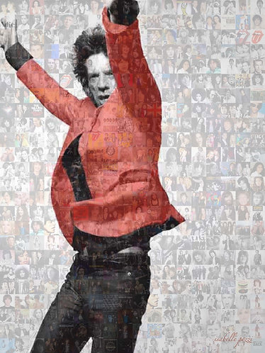Mick Jagger -  Red Jacket