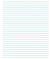 CLASSIC LINED PAPER  Lined Paper With Picture