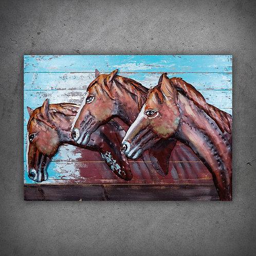 Tablou 3D HORSES