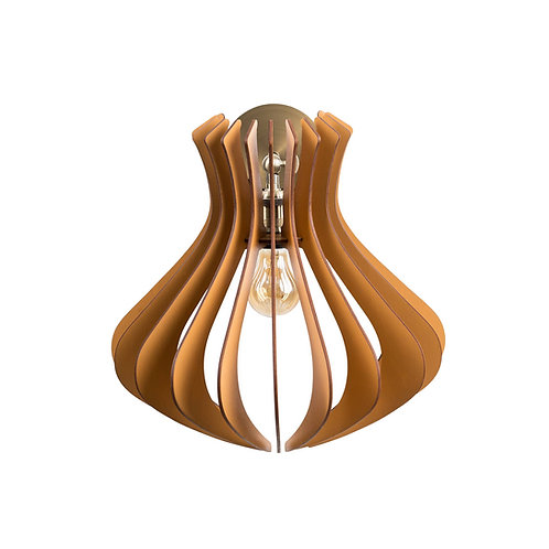 Aplică din lemn CALIOPE Maro