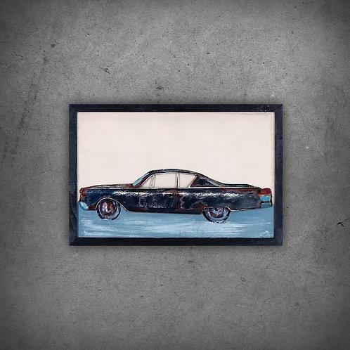 Tablou 3D OLD CAR