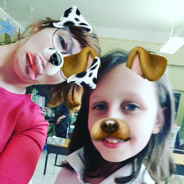 Snapchat avec avec une de mes lapines 😚 #snapchat