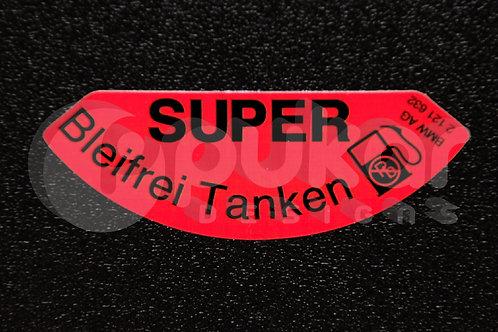 Super Petrol Cap Sticker
