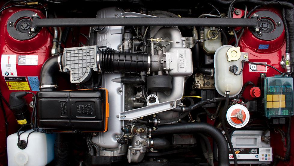 BMW E24 635csi Engine Bay Stickers