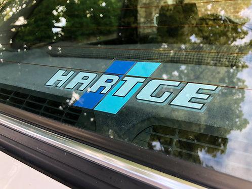 Hartge Window Sticker