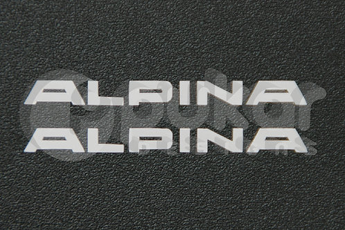 Alpina Instrument Decals