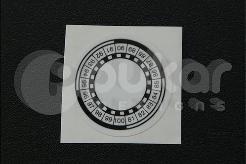 USA Recall Sticker