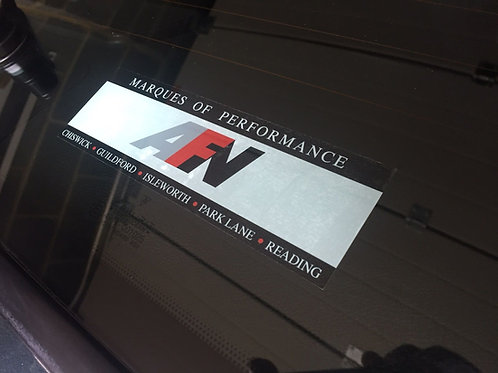 AFN Dealer Sticker