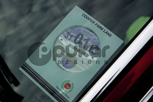 Dealer Tax Disc Holder