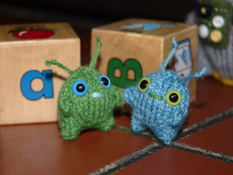 Free Pattern: Mini Aliens