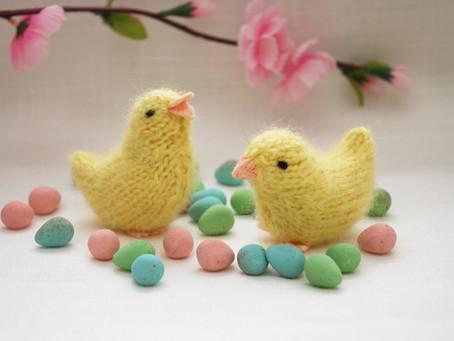 Free Pattern: Spring Chick