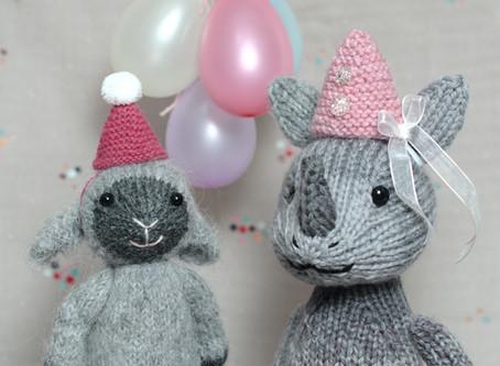 Free Pattern: Party Hat