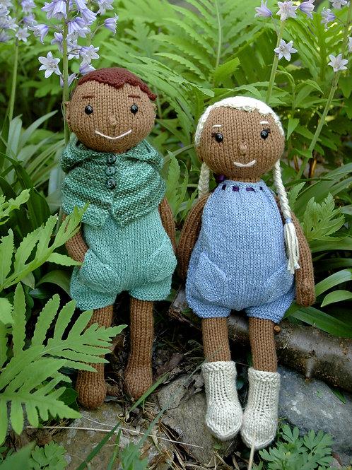 Wood Elf Doll