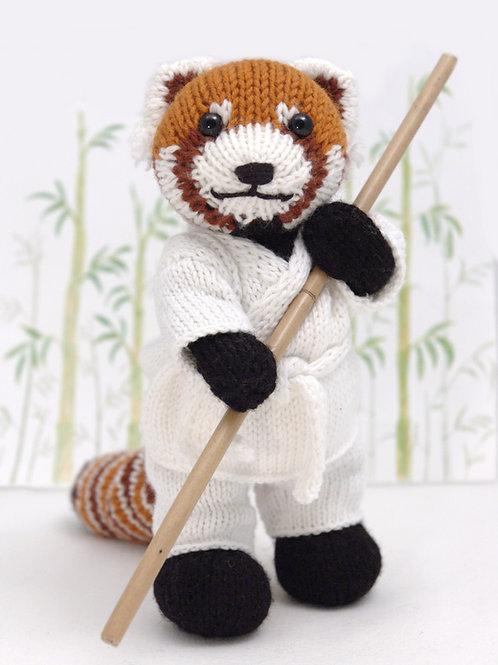 Red Panda with a Karate Gi
