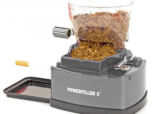 Powerfiller 3 - tubeuse électrique - avec entonnoir à tabac