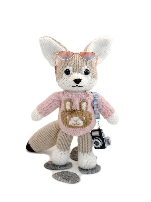 Fennec Fox with Mascot Shirt