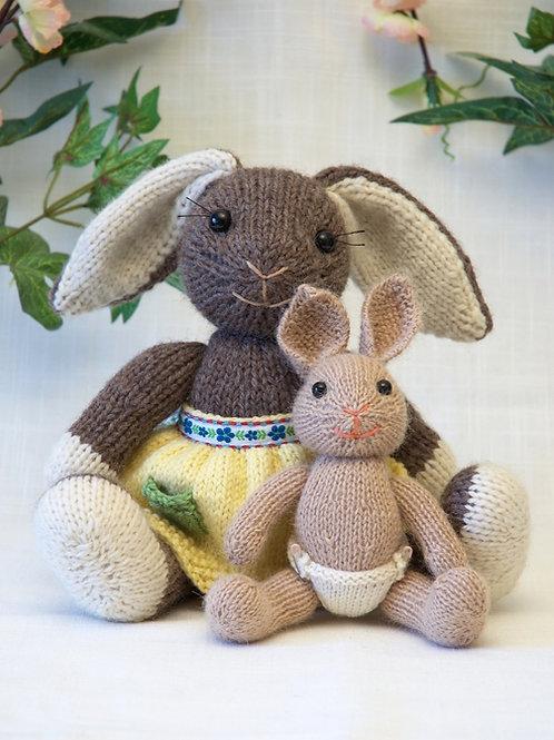 Mama and Baby Bunny
