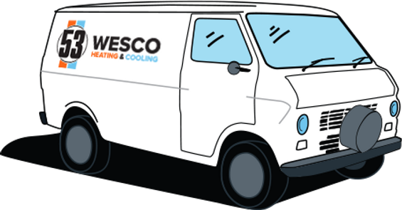 Wesco 53 HVAC Service Van
