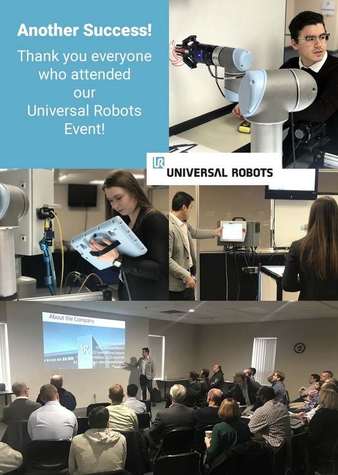 Another Successful Universal Robots' Event!