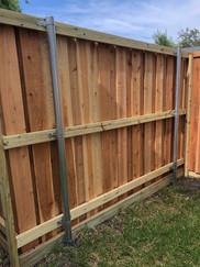 six foot fence with treated kickplate.JP