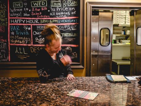 Take-Out Only @Filomena's Pizzeria