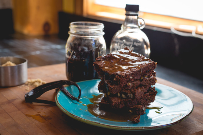 Amanda_Bakes_Chestnut_Brownies_with_Mapl