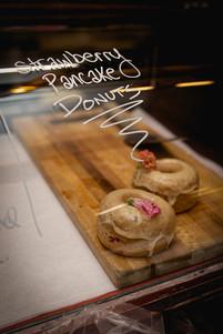 Strawberry Pancake Donuts