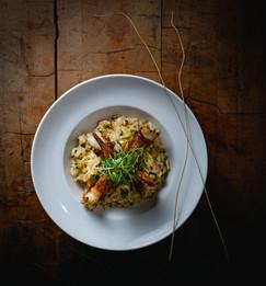 Tuscany Shrimp, Chef Jamie Munger