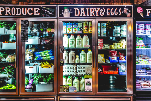 More fresh dairy and produce