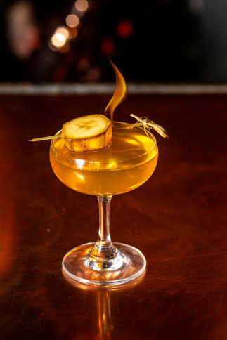 Banana's Foster Cocktail