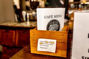 The Café Menu