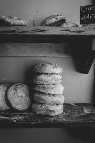 Fresh Bread, Peasant Loaves