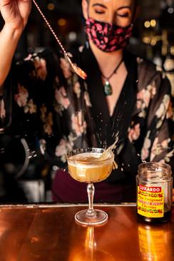 Bartender Kellie at Fino Pizza Bar in Watertown