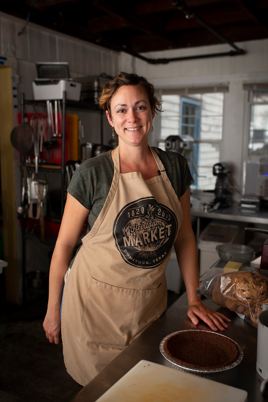 Julia Koulouris of Heirloom Market